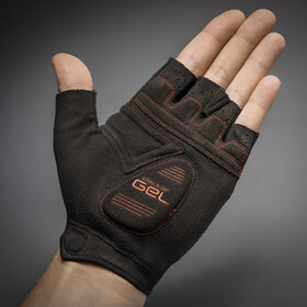 GripGrab SuperGel Gevoerde Halve Vinger Handschoenen, red